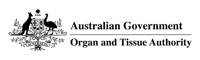 Australian Government Organ and Tissue Authority Logo for the Rowdy Inc Portfolio Page