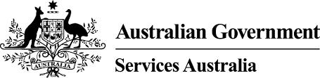 Australian Government Services Australia Logo for the Rowdy Inc Portfolio Page