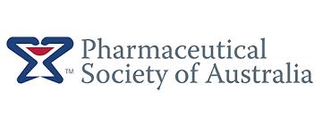 Pharmaceutical Society of Australia Logo for the Rowdy Inc Portfolio Page